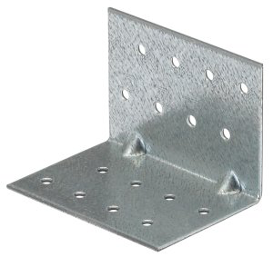 Stainless Steel 2 mm V2A Standard Angle Plate Socket Plate Metal Angle Roof Plate L Shape